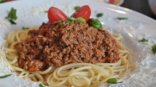 Recipes Of Spaghetti Bolognese With Lamb And Chicken