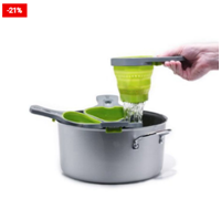 Clip-On Silicone Pasta Cooking Basket